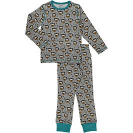 Maxomorra Pyjama LS 2-teilig little monkey