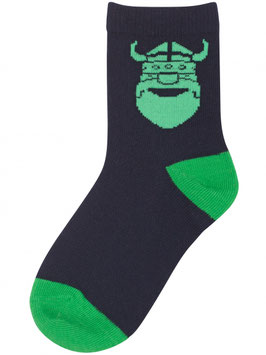 Danefae Socks Navy ERIK green