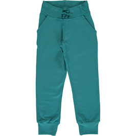 Maxomorra Sweat Pants Soft Petrol