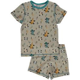 Maxomorra Pyjama SS Lizard