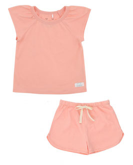Snork Selma Summer Pyjama Peach Blush