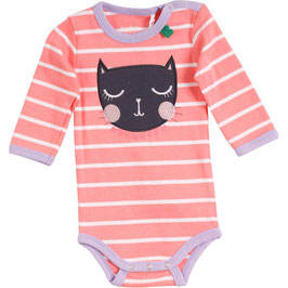 By Green Cotton Fred's World Cats front Body Langarm Coral