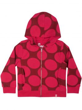 Danefae Zip N'Roll Hoodie Love Pink Dots