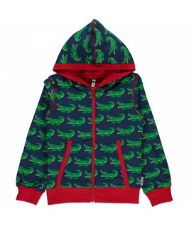 Maxomorra Cardigan Crocodile
