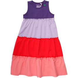 By Green Cotton Alfa Dress Old Purple
