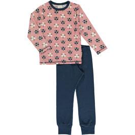 Maxomorra Pyjama LS Blueberry Blossom