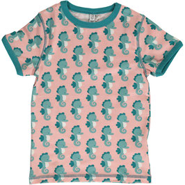 Maxomorra Shirt SS Seahorse