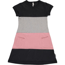 Maxomorra Dress SS Block Black