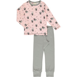 Maxomorra Pyjama LS Magic Rabbit