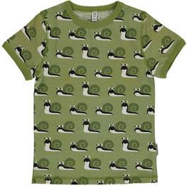 Maxomorra Shirt SS Snail/Schnecke