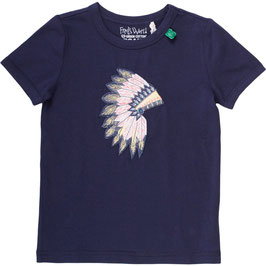 By Green Cotton Fred's World Shirt SS Tepee Warbonnet