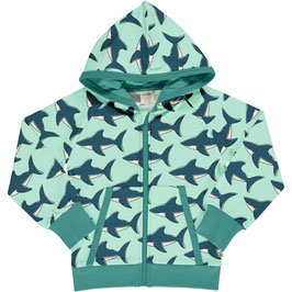 Maxomorra Cardigan Hood Sweat Shark