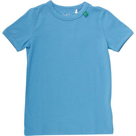 By Green Cotton Fred's World Shirt SS Dove Blue