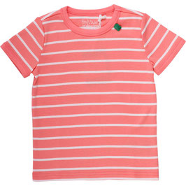 By Green Cotton Fred's World Stripe Shirt SS Coral