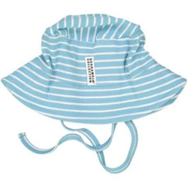 Geggamoja Sunny Hat blue/white