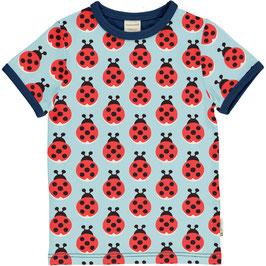 Maxomorra Shirt SS Lazy Ladybug
