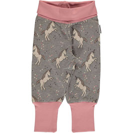 Maxomorra Pants Rib Sweat Unicorn Dreams