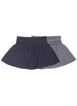Danefae Navy/Offwhite Dots Retriever Shorts