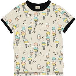 Maxomorra Shirt SS Ice Cream Confetti