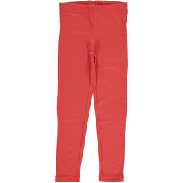 Maxomorra Leggings Rusty Red