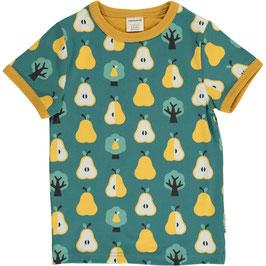 Maxomorra Shirt SS Golden Pear