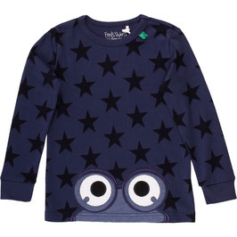 By Green Cotton Fred's World Star peep T Boy Navy