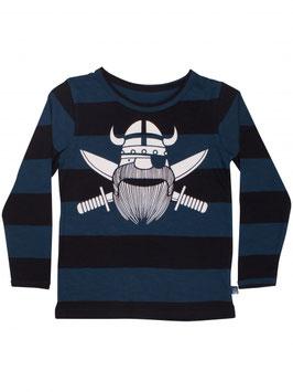 Danefae Langarmshirt Organic Spire Tee Black Pirate