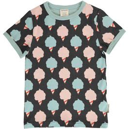 Maxomorra Shirt SS Sweet Cotton Candy