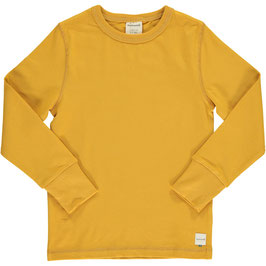 Maxomorra Shirt LS Solid Ochre