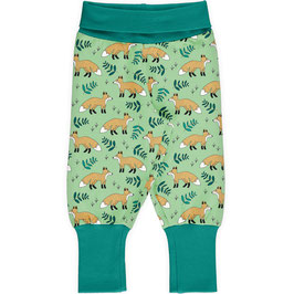 Maxomorra Pants Rib Wild Fox
