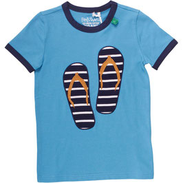 By Green Cotton Fred's World Shirt SS FlipFlop Boy