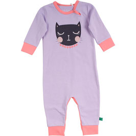 By Green Cotton Fred's World Cats Bodysuit Girl Lavender
