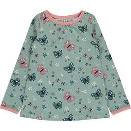 Maxomorra  Top A-Line LS Butterfly/Schmetterling