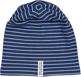 Geggamoja Mütze Fleece Marine/Blue