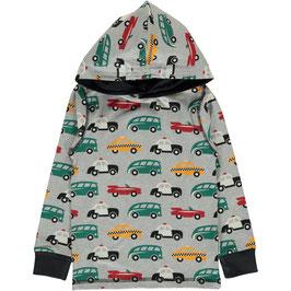 Maxomorra Shirt LS Hood Traffic/Verkehr