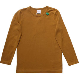 By Green Cotton Fred's World Shirt LS Basic Dark Olive