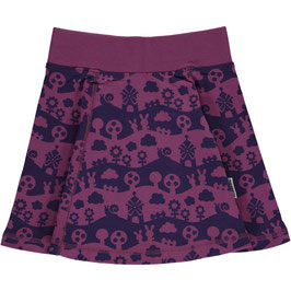 Maxomorra Skirt Vipp Purple Landscape