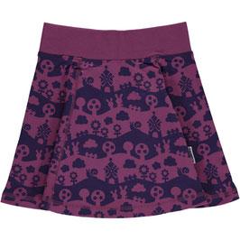 Maxomorra Skirt Vipp Purple Landscape