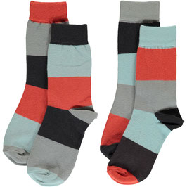 Maxomorra Socks 2-pack Multi Fun