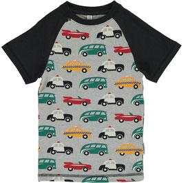 Maxomorra Shirt SS Slim Traffic