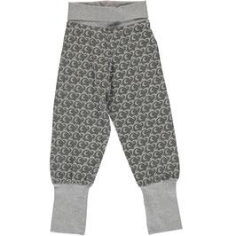 Maxomorra Pants Rib Elephant