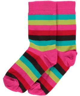 Maxomorra Socks Cerise Mix
