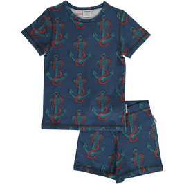 Maxomorra Pyjama SS Anchor