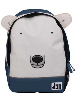DYR Kids Backpack Dark Blue Isbjoer