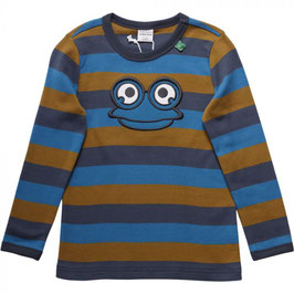 By Green Cotton Fred's World Shirt LS Midnight *Aktion*