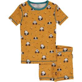 Maxomorra Pyjama SS Slim Mole/Maulwurf
