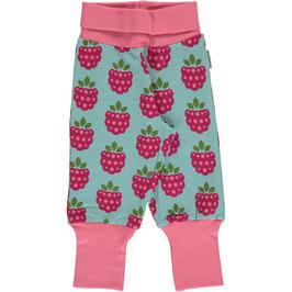 Maxomorra Pants Rib Raspberry/Himbeere