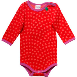 By Green Cotton Fred's World Body LS Heart Traffic Red