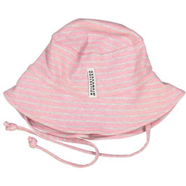 Geggamoja Sonnenhut UV Classic Pink Daisy Stripe