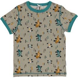 Maxomorra Shirt SS Lizard